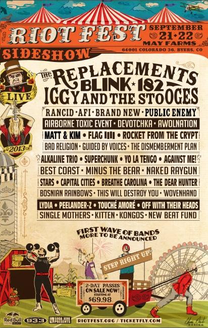 Riot Fest - Denver, CO - September 2013