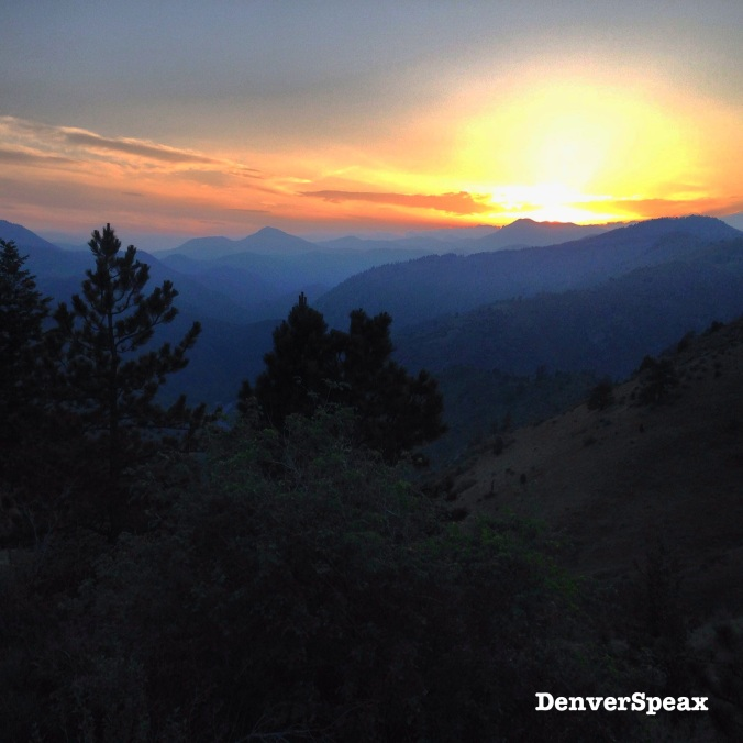 A Lookout Mountain Sunset