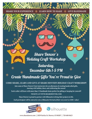 holiday craft workshop