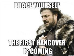 the first hangover
