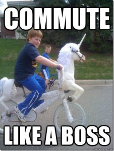 Commute like a boss